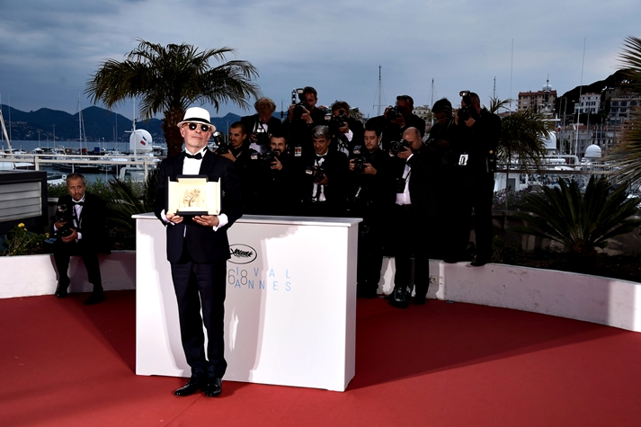 Jacques Audiard, ganador de la Palma de Oro
