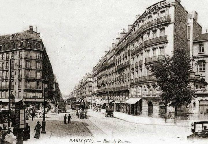 1853 la rue de rennes paris unplugged. Black Bedroom Furniture Sets. Home Design Ideas