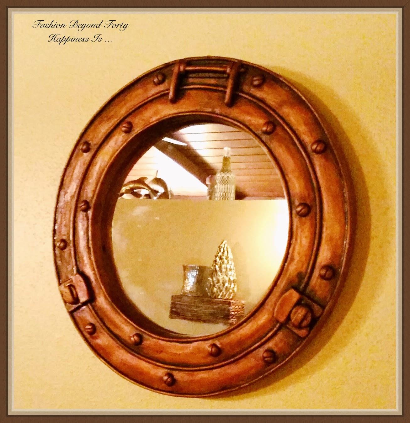 Porthole Mirror from Oriental Trading Company