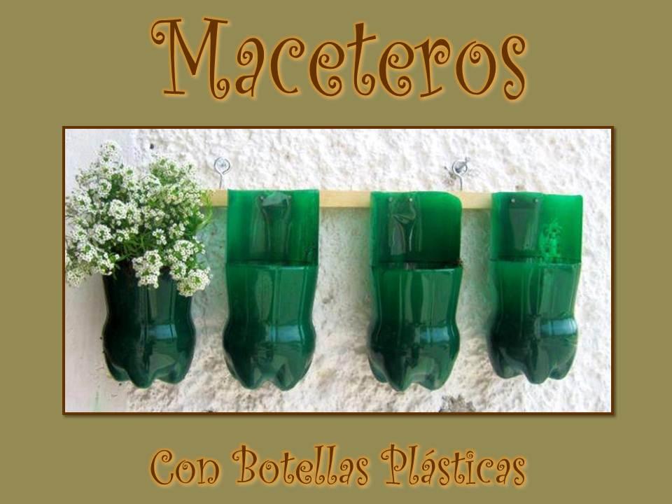 Con tus propias manos como hacer maceteros con botellas - Tiestos de plastico baratos ...