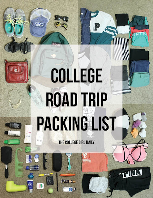 Schick, back to school, college, packing, packing list, list, checklist,