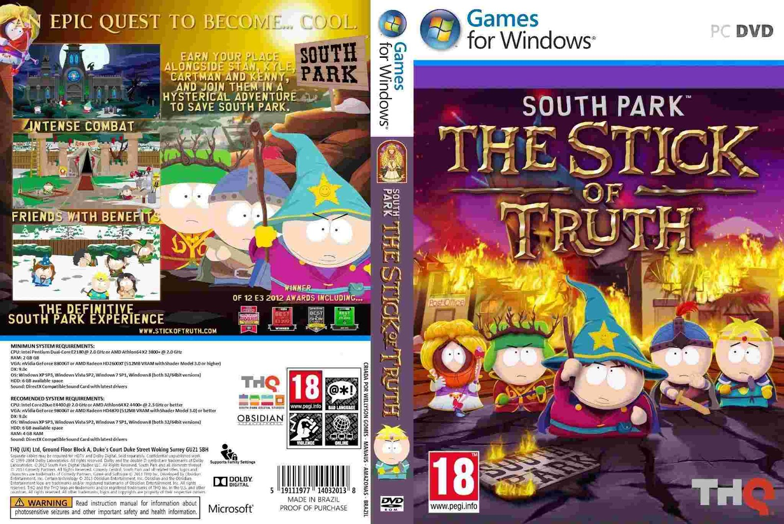 Download South Park Stick Of Truth-RELOADED