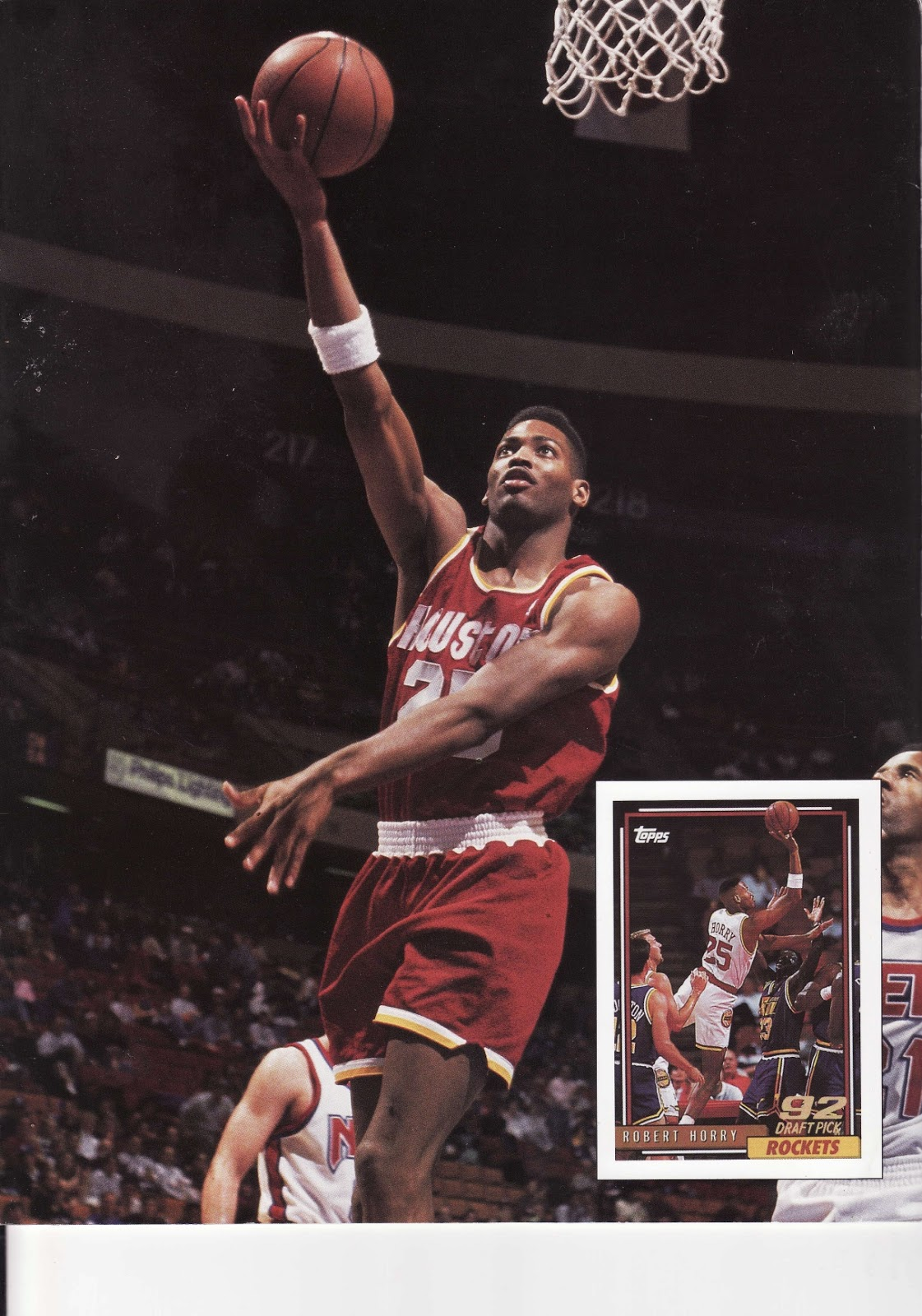Robert Horry from Beckett Basketball Monthly