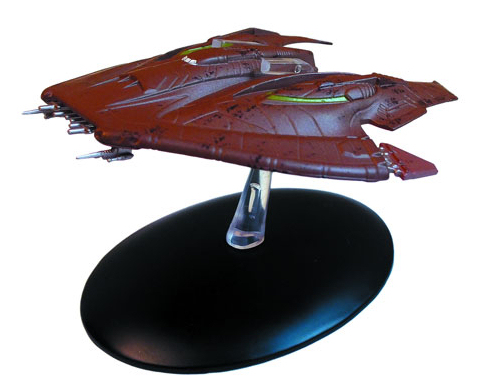 Eaglemoss Collections Eaglemoss+Star+Trek+The+Official+Starships+Collection+%2330+Nausicaan+fighter