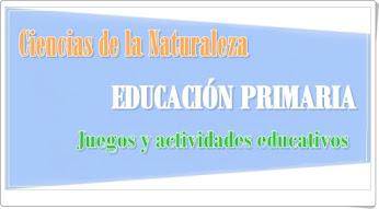 Conjunto de juegos y actividades de Ciencias de la Naturaleza de Primaria