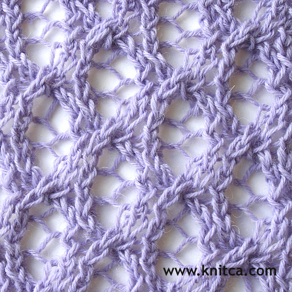 Knitted Lace Pattern : knitca: 5 beautiful lace stitches for summer knits
