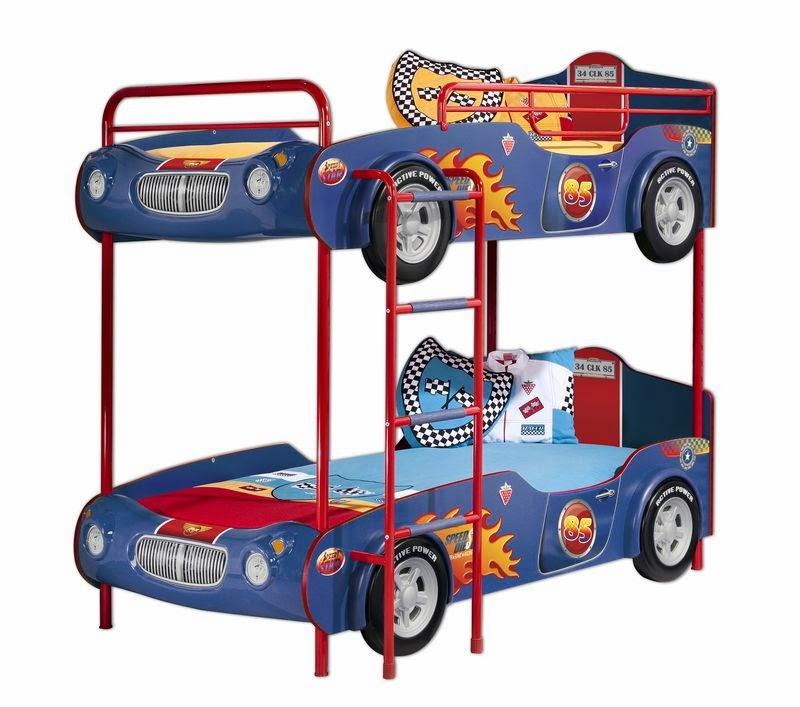 Camere per bambini letti a castelli per bambini auto letto for Letti per bambini divertenti