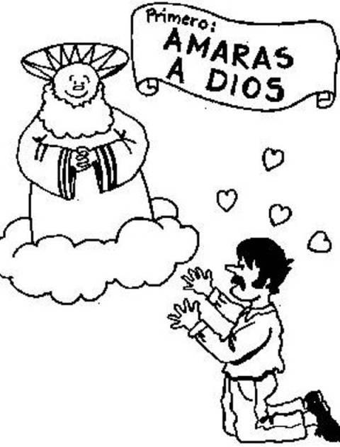 10 mandamiento iglesia catolica: