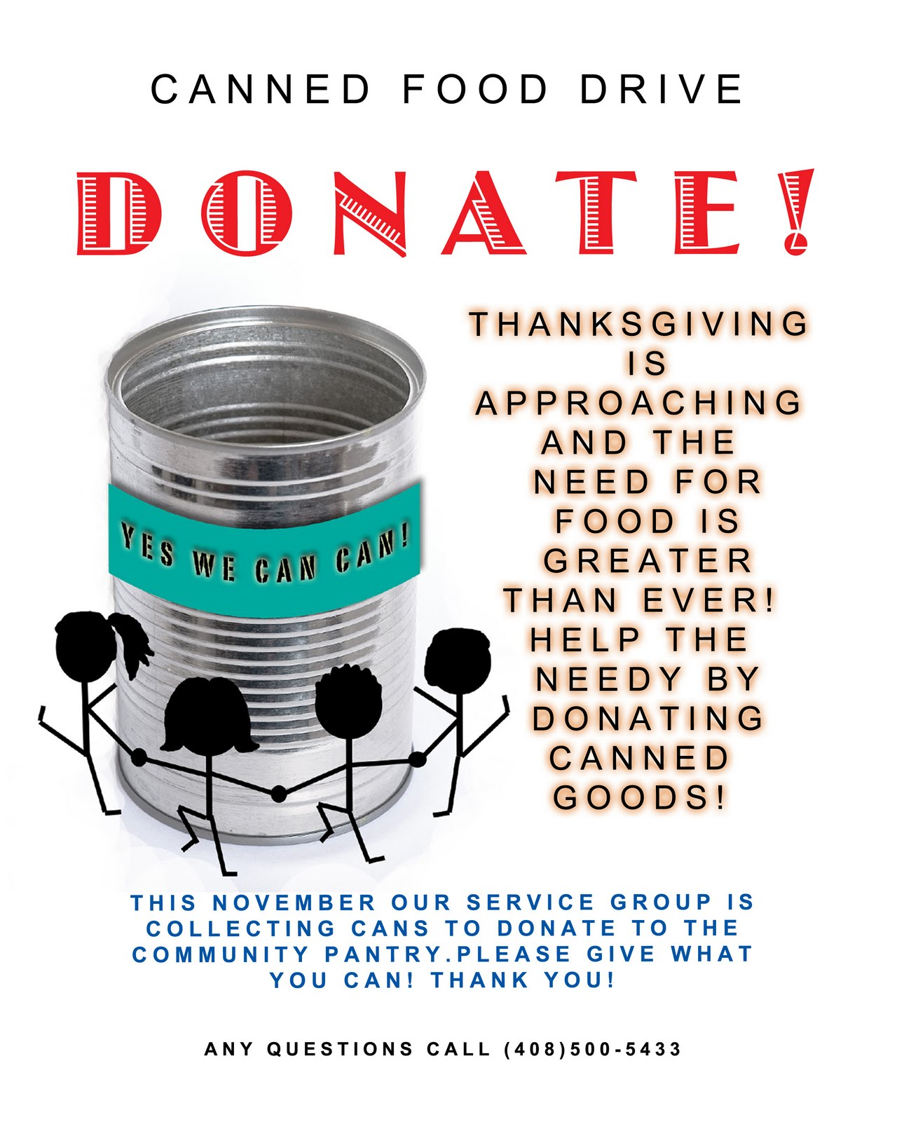 Food Drive And Catch Up