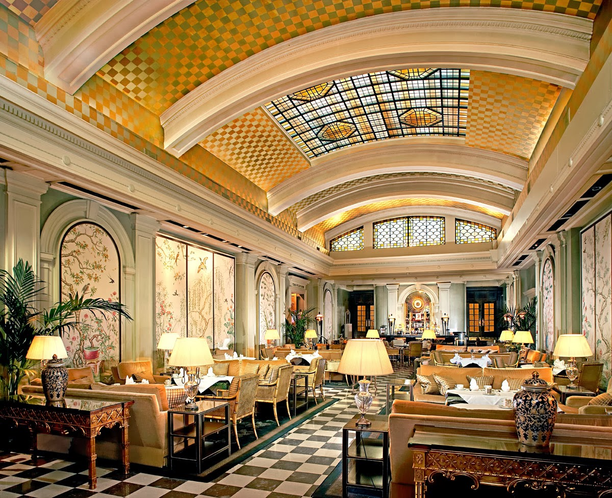 Park Lane Hotel Palm Court, London, UK