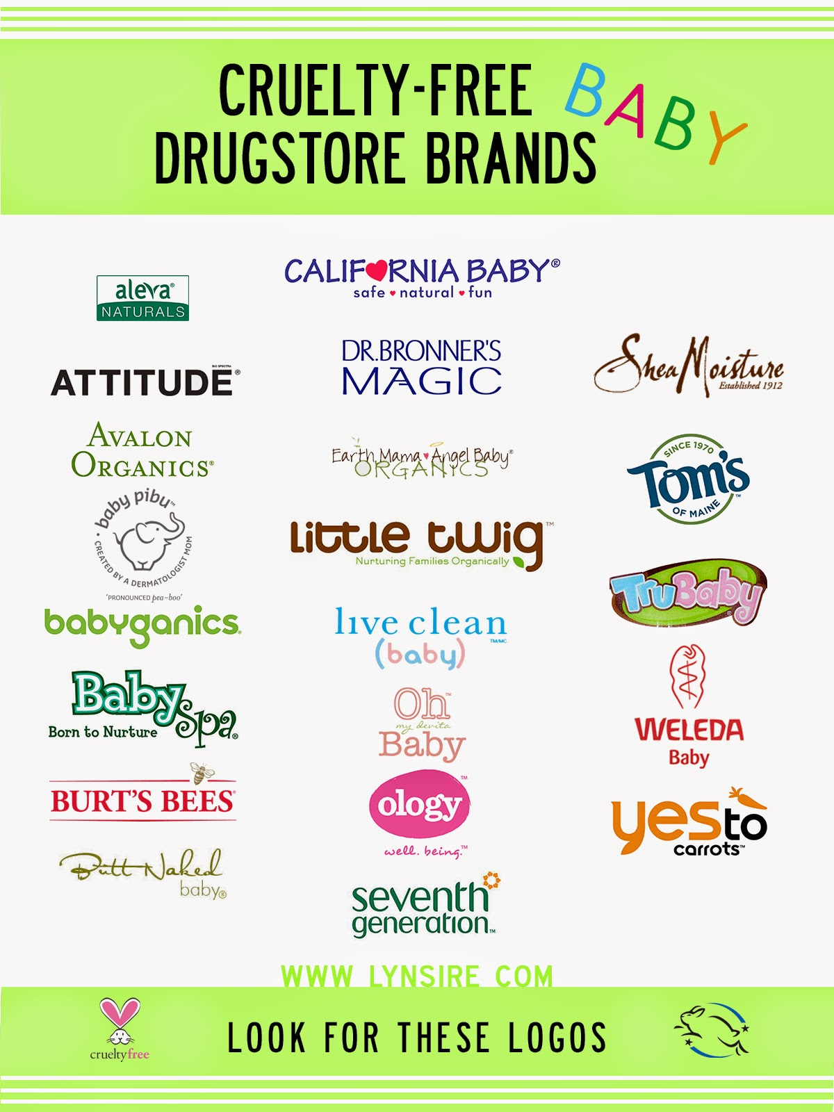 Cruelty-Free, Baby, Drugstore Brands, No animal testing