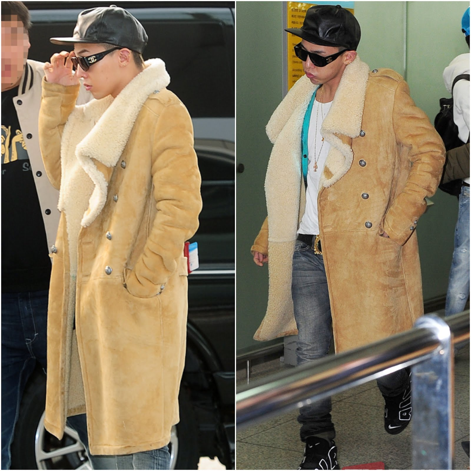 00O00 London Menswear Blog Celebrity Style G-Dragon [지드래곤] from BigBang in Balmain - Incheon Airport