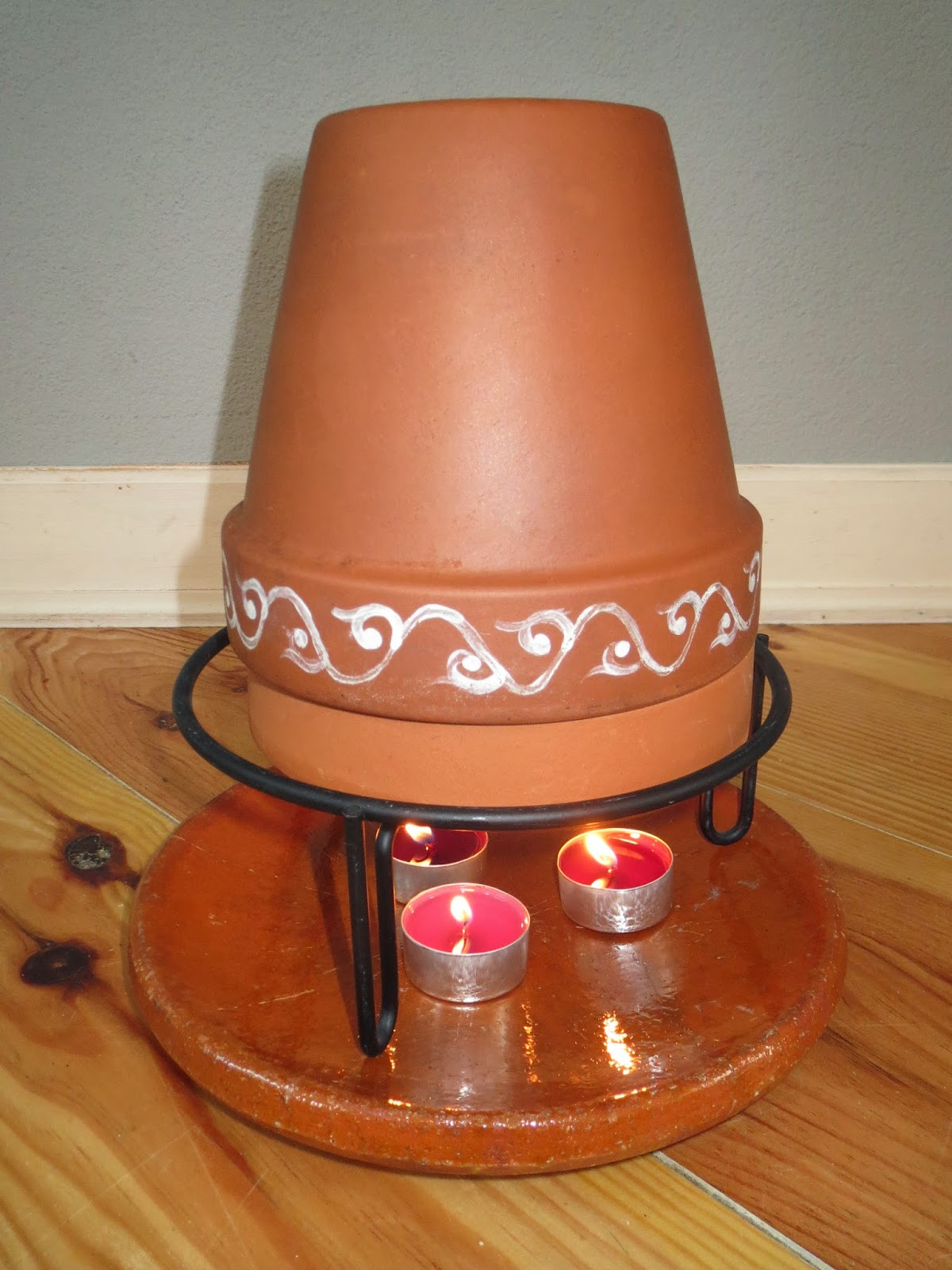 candle flower pot heater - startupinsights.org & Candle Flower Pot Heater \u0026 Candle Powered Air Heater - DIY Radiant ...