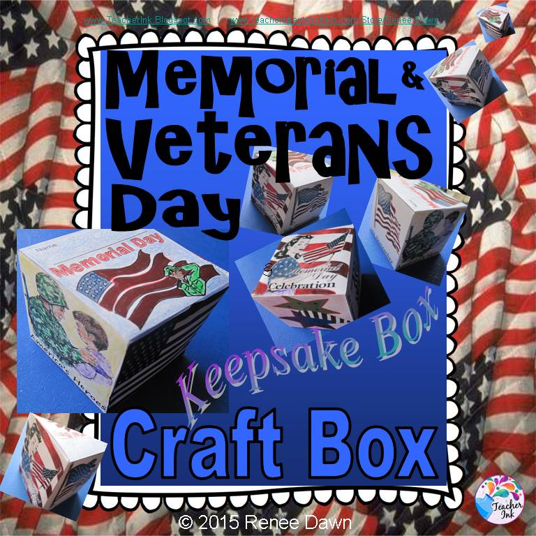 Memorial Day Craft Box