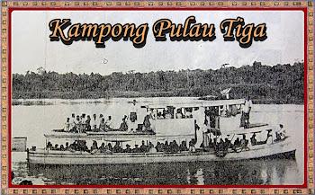Kapal Penumpang Di Sg Perak.