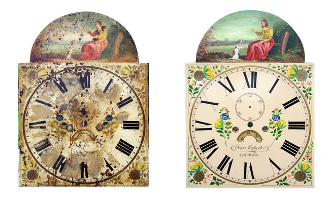 My Antique World: Antique clock dials and hands
