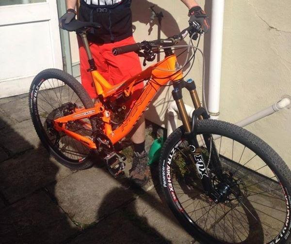 Matthew S Intense Tracer Stolen Bristol Bikes
