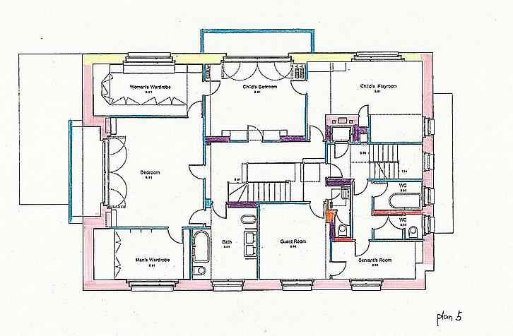 Project 1 Villa Muller Plan Details on Villa Floor Plans