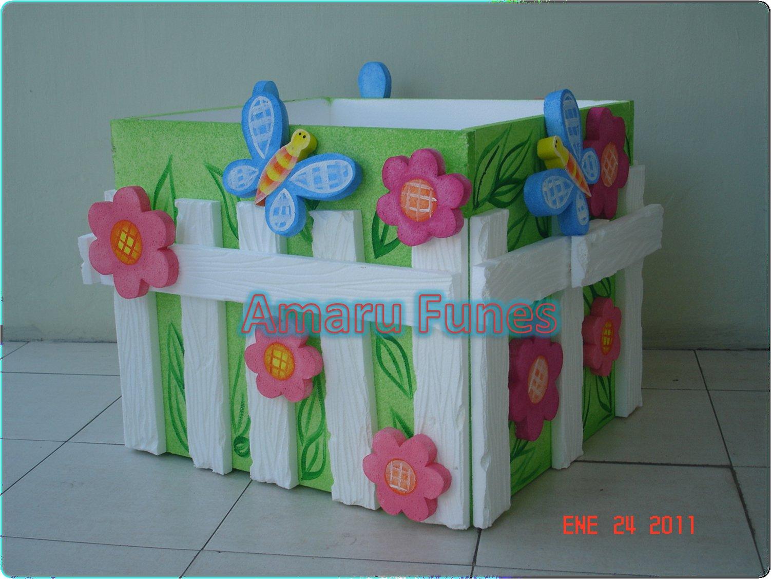Amaru funes decoraciones flores y mariposas 1 ao for Decoraciones de jardines