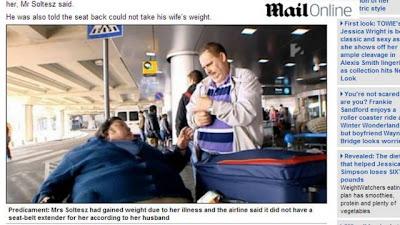 Americana de 200 kg morre na Hungria após ser recusada em três voos por ser muito pesada