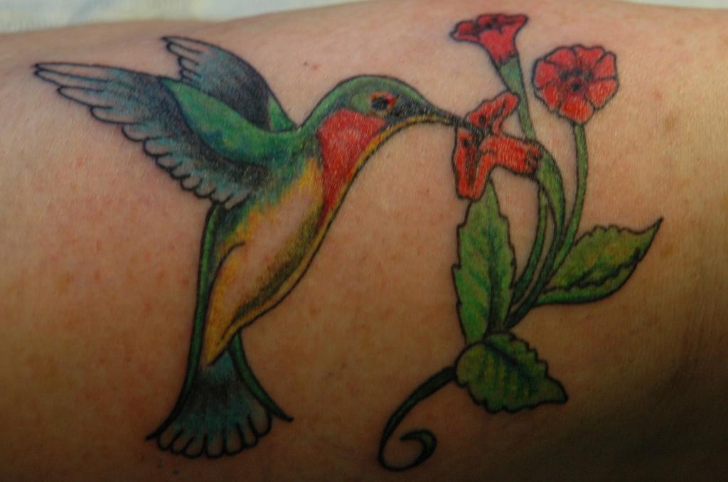 Tattoos 6 Hummingbird