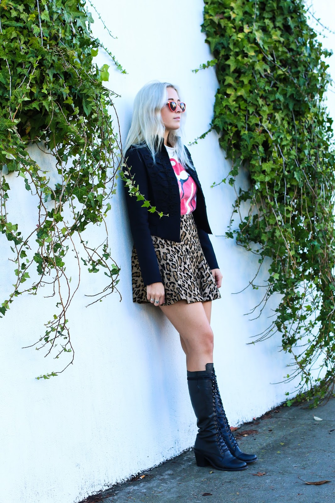 Eclectic Style – San Francisco Blogger Stone Fox Style in Tall Steve Madden Boots