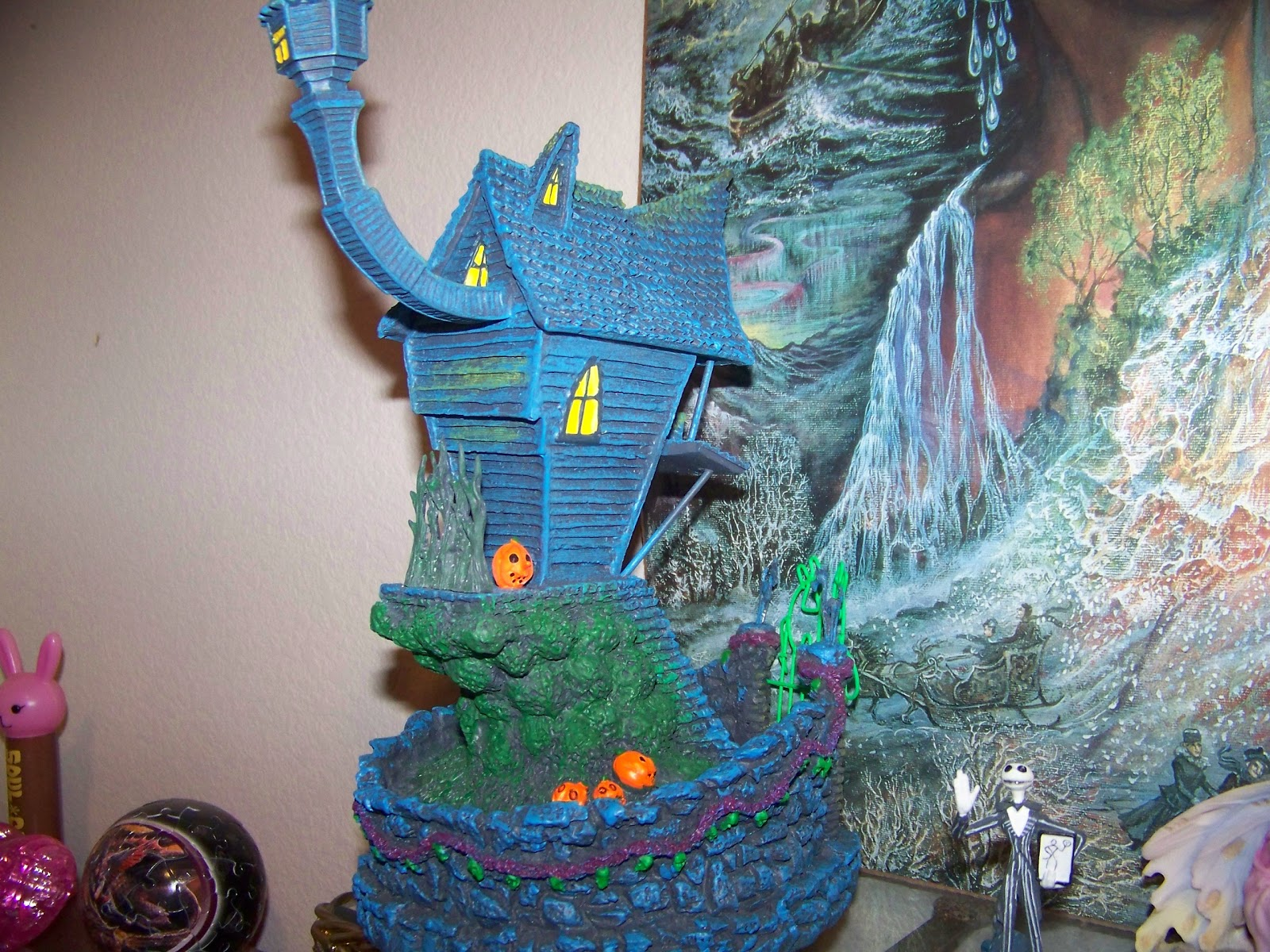 Under the Crooked Hat: Nightmare Before Christmas Village, Jack ...