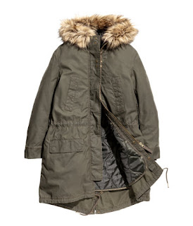 H&M Cotton Parka