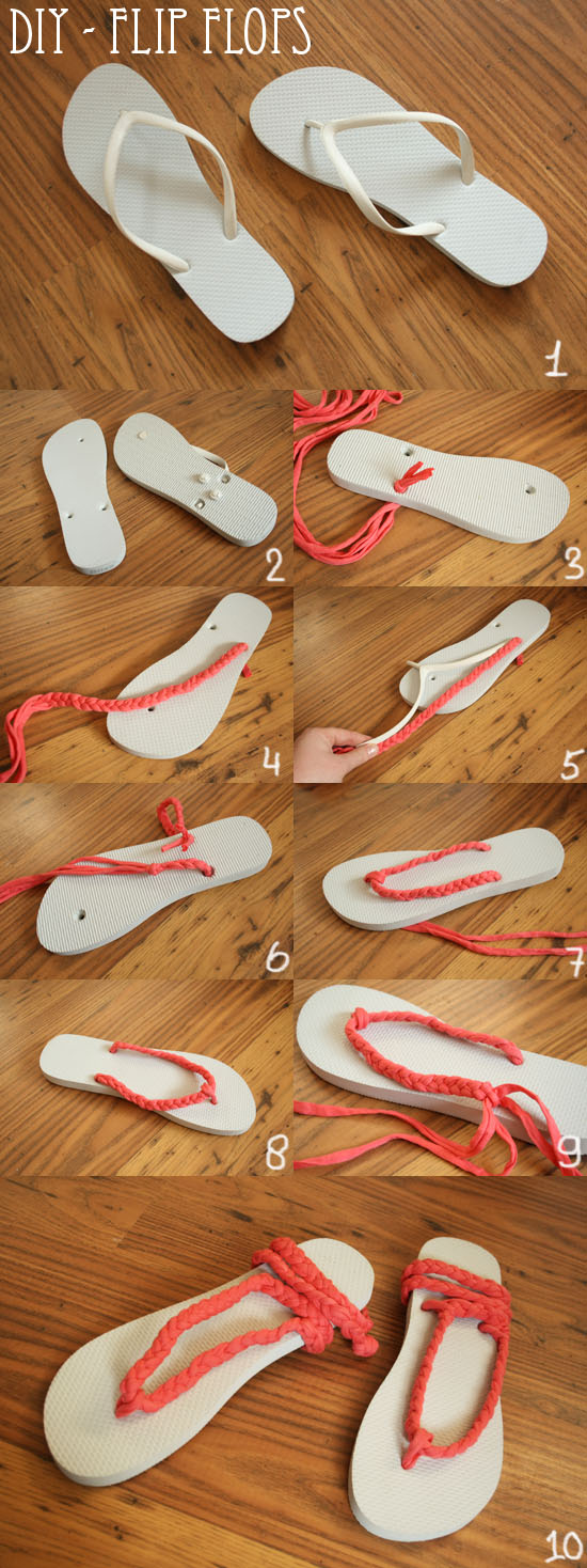 renovar unas sandalias