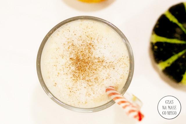 kawa latte z puree z dyni