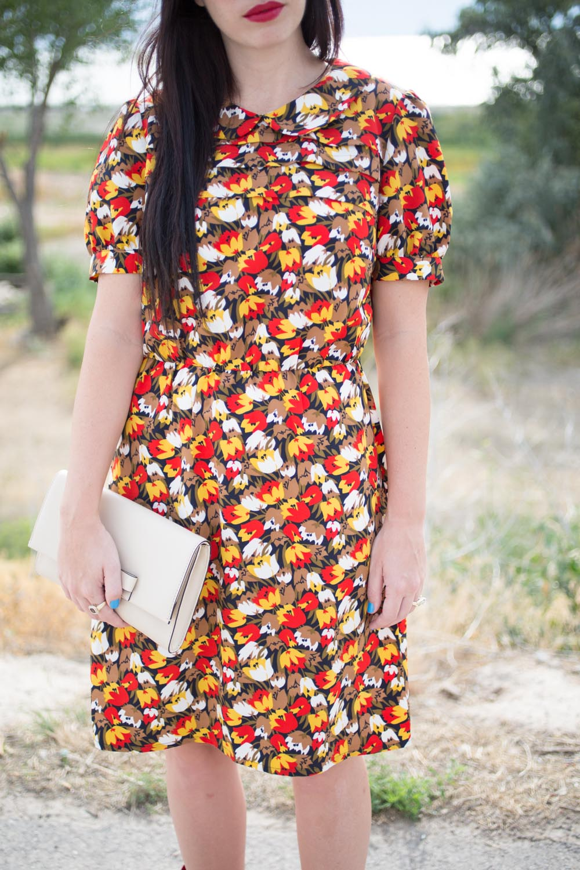 Karen Walker Floral Dress