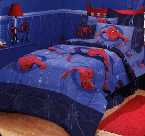 Living room interior design spider man bedroom decorating - Spiderman decorating ideas bedroom ...