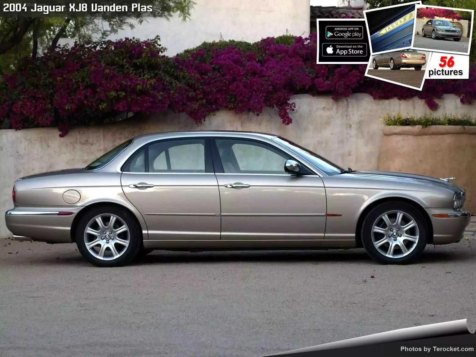 Hình ảnh xe ô tô Jaguar XJ8 Vanden Plas 2004 & nội ngoại thất