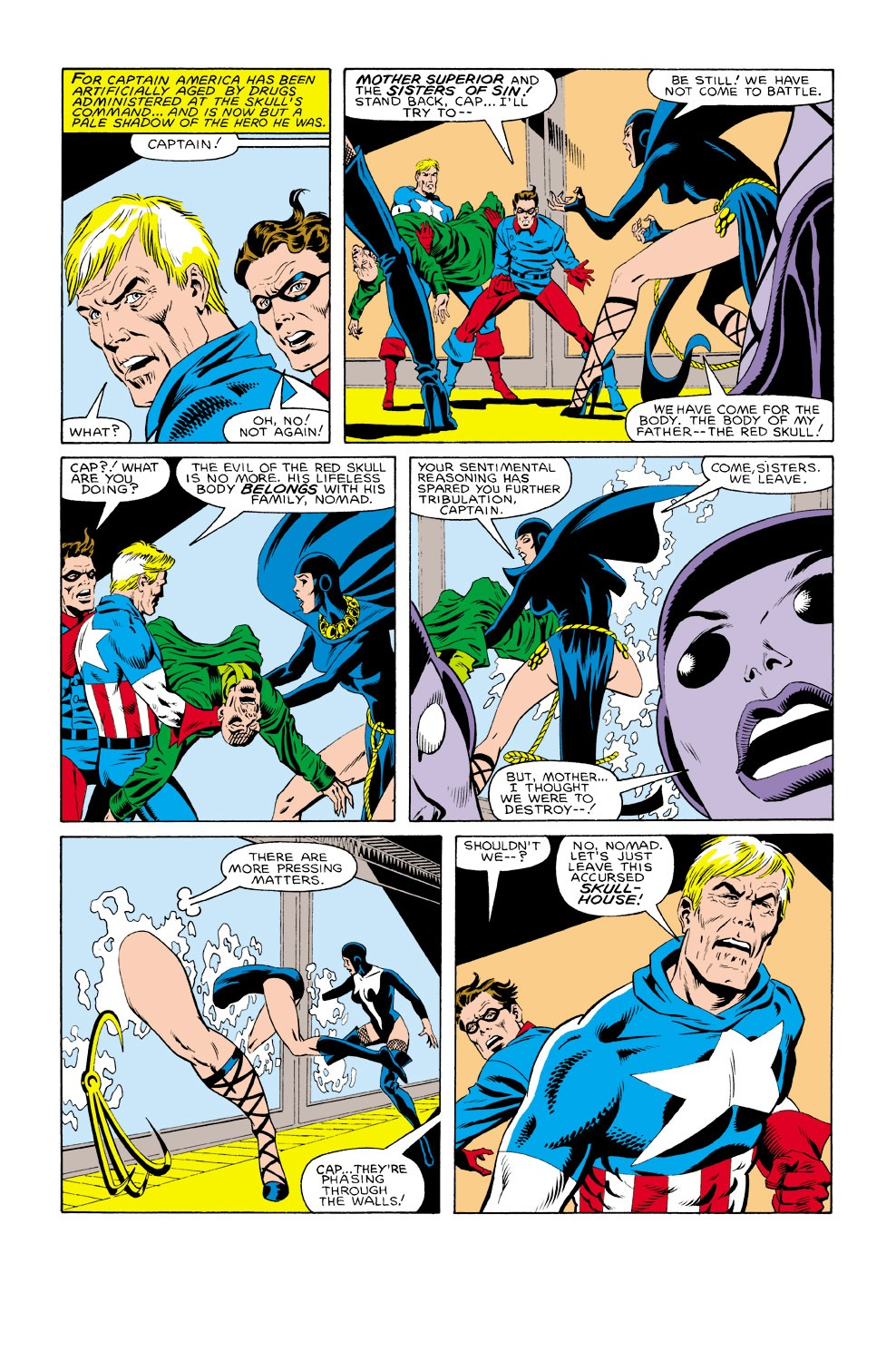 Captain America (1968) Issue #301 #229 - English 3