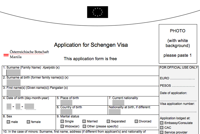 How to Apply for a Schengen Visa in the Philippines ~ Cheap Travel ...
