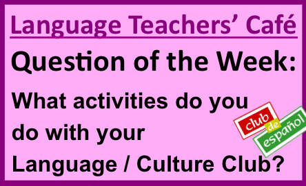 School Clubs And Activities Activities For Language Club