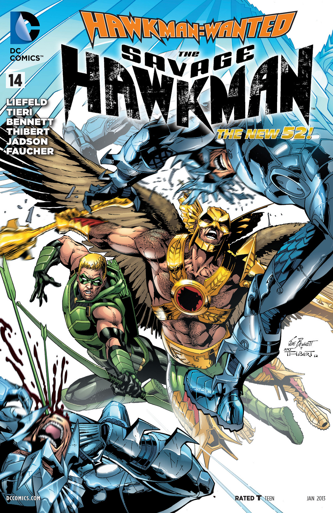 The Savage Hawkman 14 Page 1