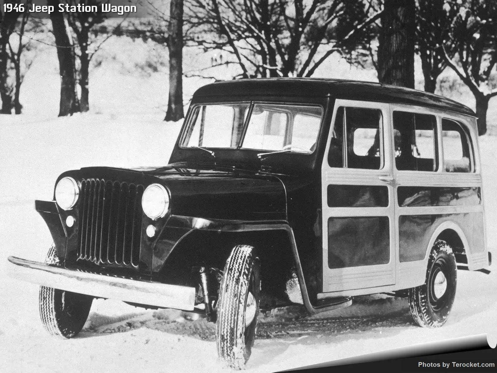 Hình ảnh xe ô tô Jeep Station Wagon 1946 & nội ngoại thất