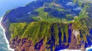 Aogashima Volcanic Island, Japan