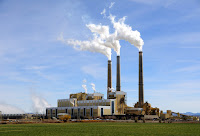 Coal powered power plant (Credit: Shutterstock) Click to Enlarge.