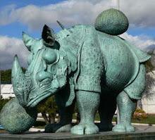 Dalí. Rinoceronte.