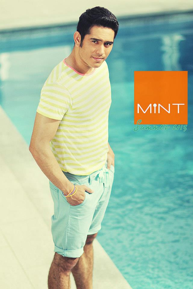 gerald anderson for mint s summer 2013 campaign more photos after the