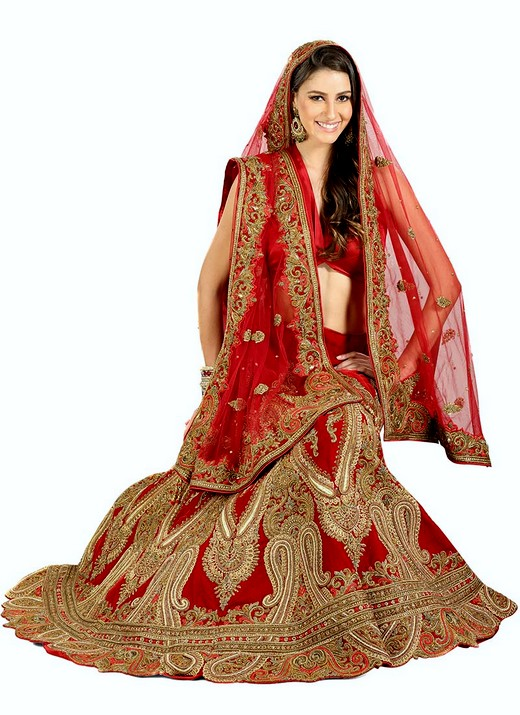 Bridal lehengas 2013 2014 indian embroidered bridal for Indian wedding dresses for bride with price