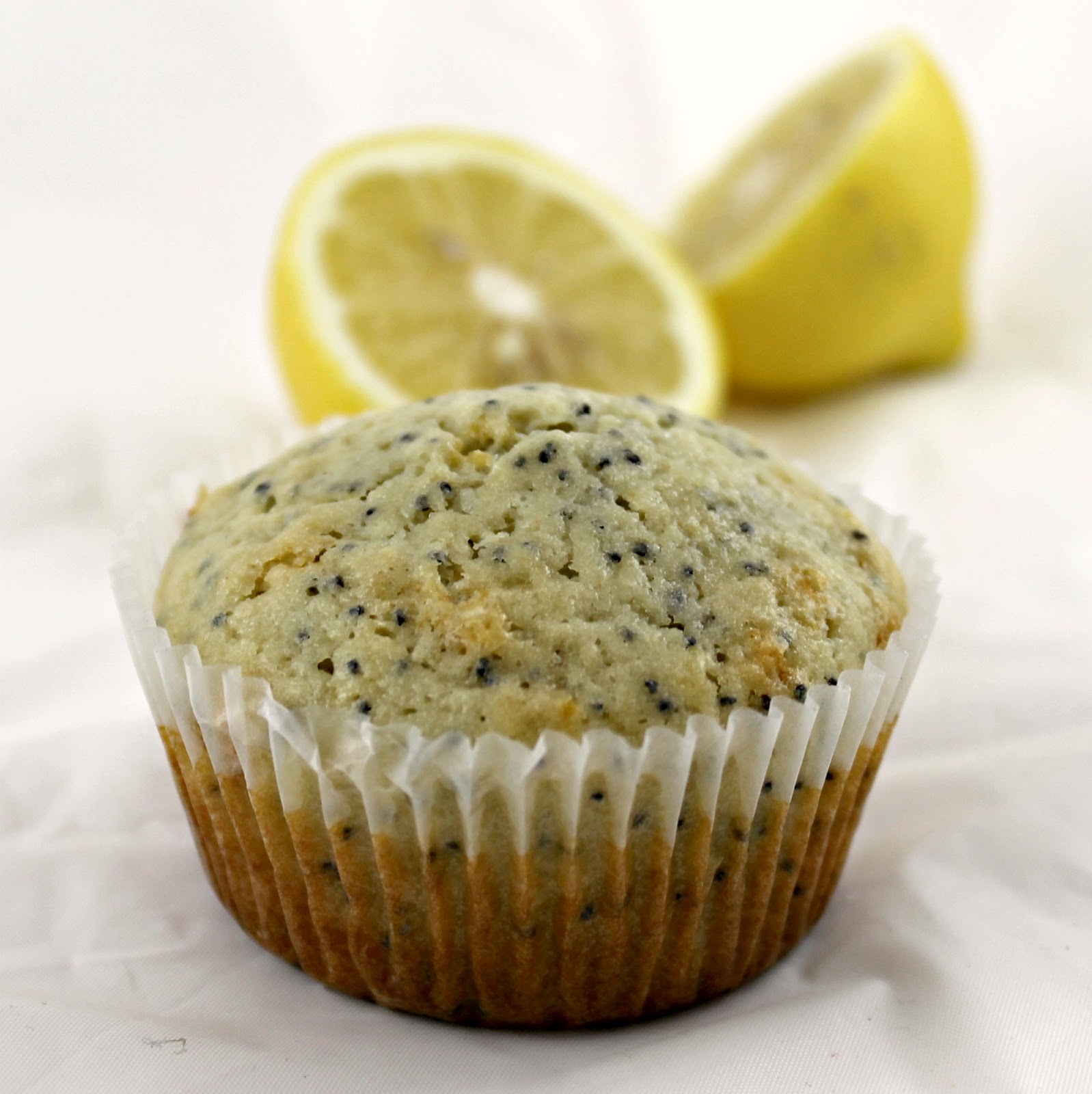 Coconut-Lemon Poppy Seed Muffins | I Can Cook That