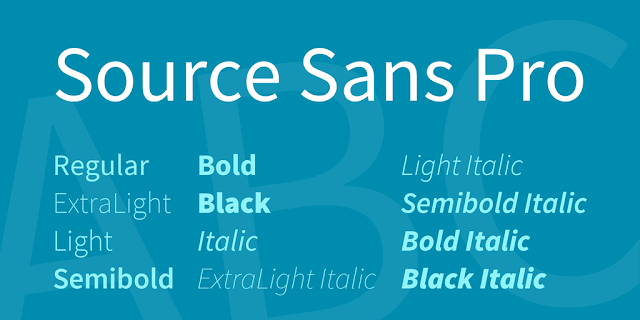 download source sans pro font free