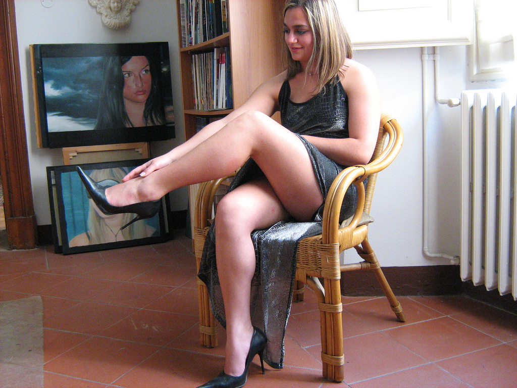 nylon angel pantyhose in nylons