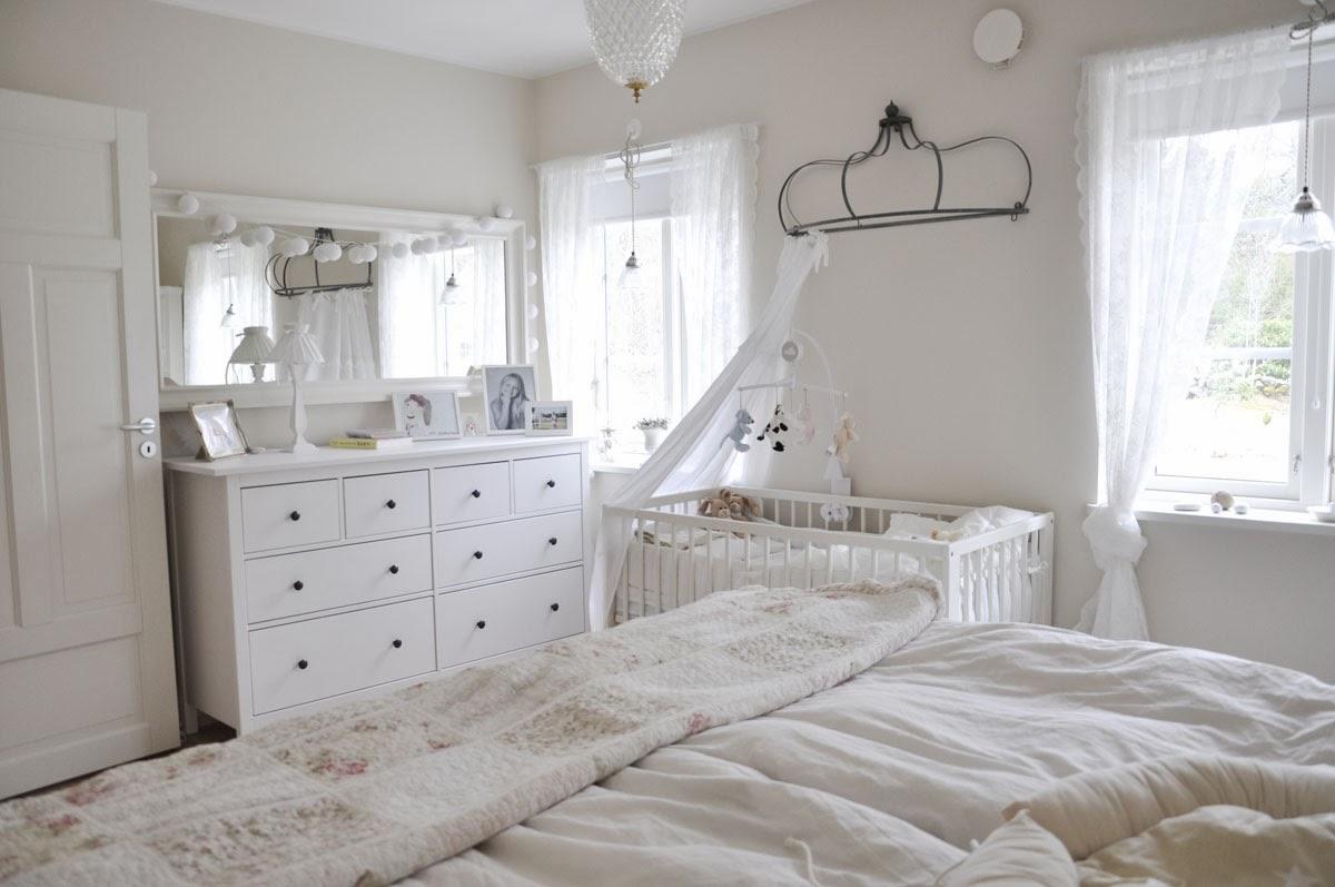 Husprojekt drömhus: babynest / sovrum