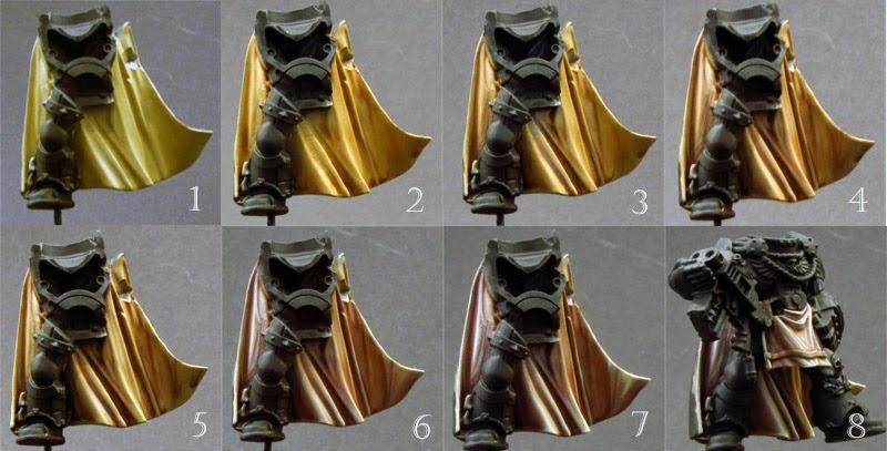 TUTORIAL - Cómo pintar ropa y capa de un Capitán Marine Cloak
