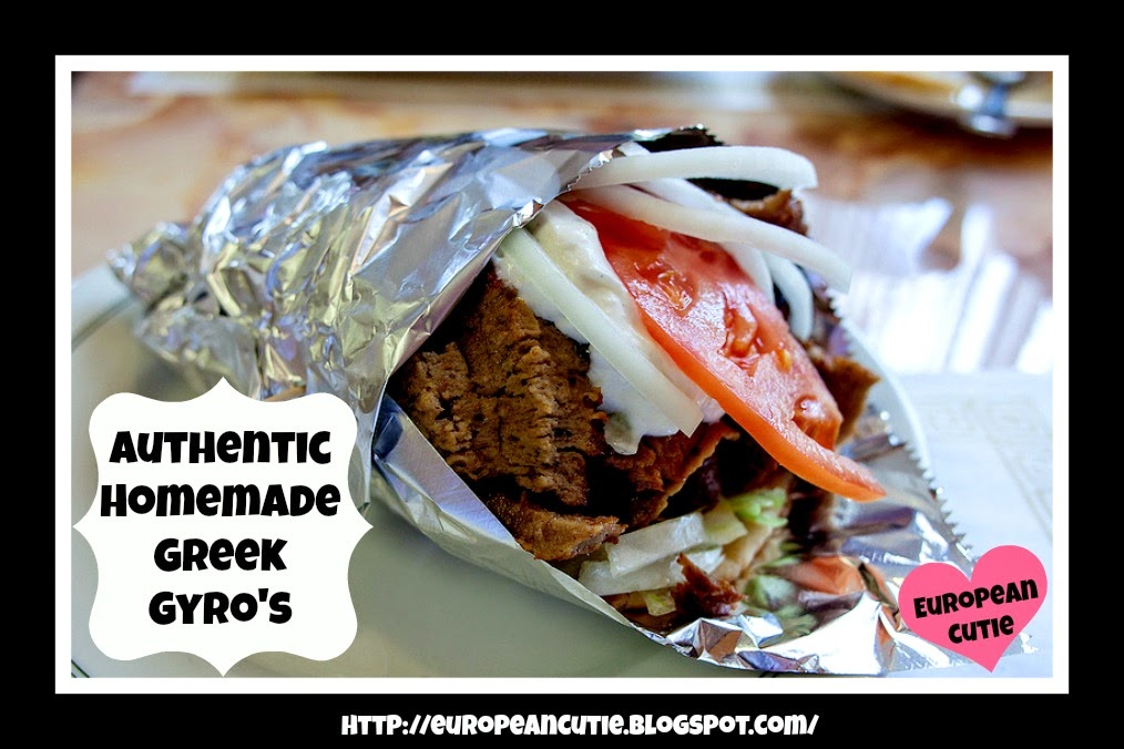 Greek gyro meat recipes - greek gyro meat recipe