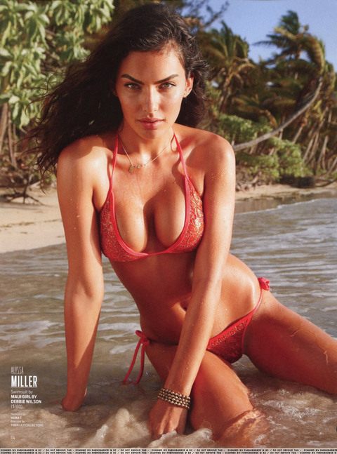 Filthy bitch Alyssa Miller topless girls are